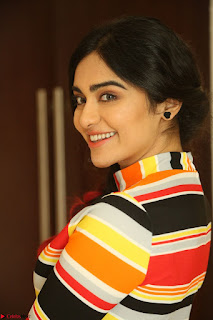 Adha Sharma in a Cute Colorful Jumpsuit Styled By Manasi Aggarwal Promoting movie Commando 2 (96).JPG