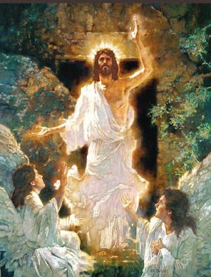 The Resurrection of Jesus Prophetic art painting, Brothers Hildebrandt.