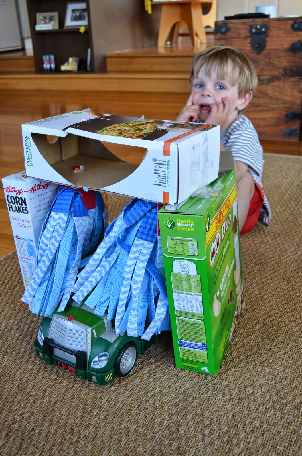 10 Ideas About Cardboard Box Cars On Pinterest: Crafternoon Garden: Cardboard Box Car Wash