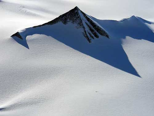 Antártida pirámides derretimiento