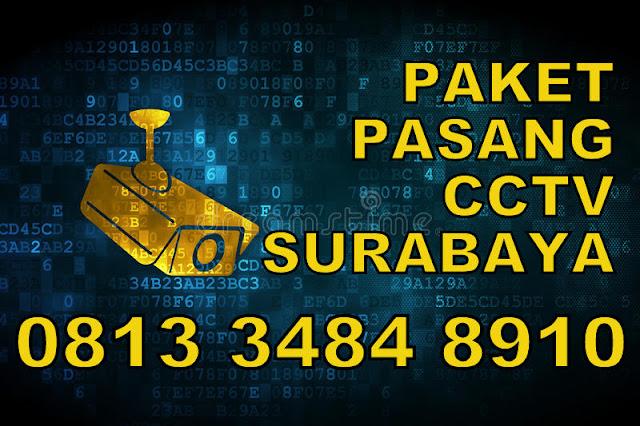 paket pasang cctv surabaya