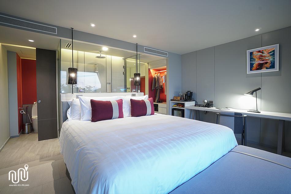ห้องพักแบบ Deluxe Seaview ที่ U Jomtien Pattaya