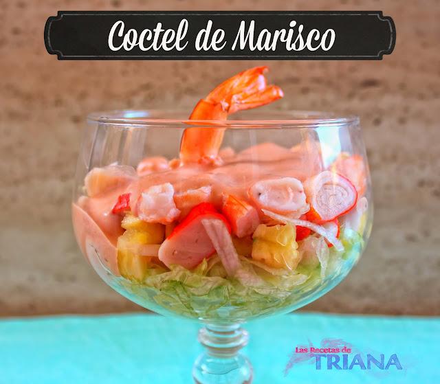 Las recetas de triana coctel de marisco - Coctel de marisco ingredientes ...