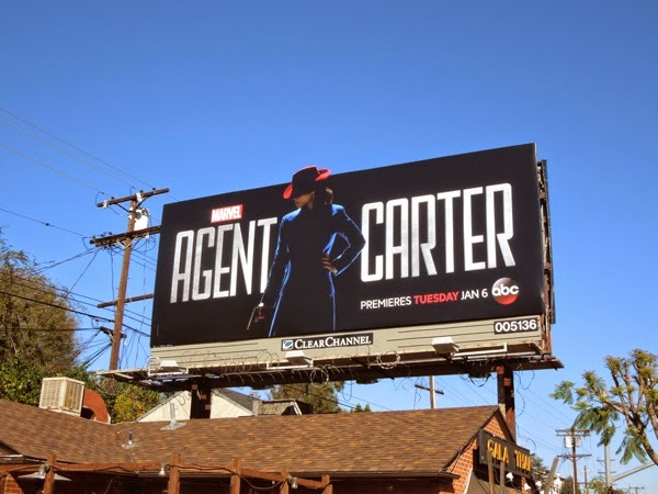 Agent Carter season 1 billboard