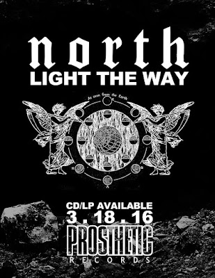 North - Light The Way - cover album
