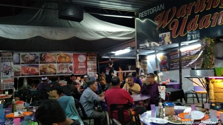 Restoran Warung Udang Lipan Parit Buntar Popular di Bulan Ramadan