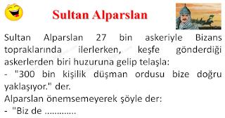 Sultan Alparslan - Asker Fıkraları - Komikler Burada