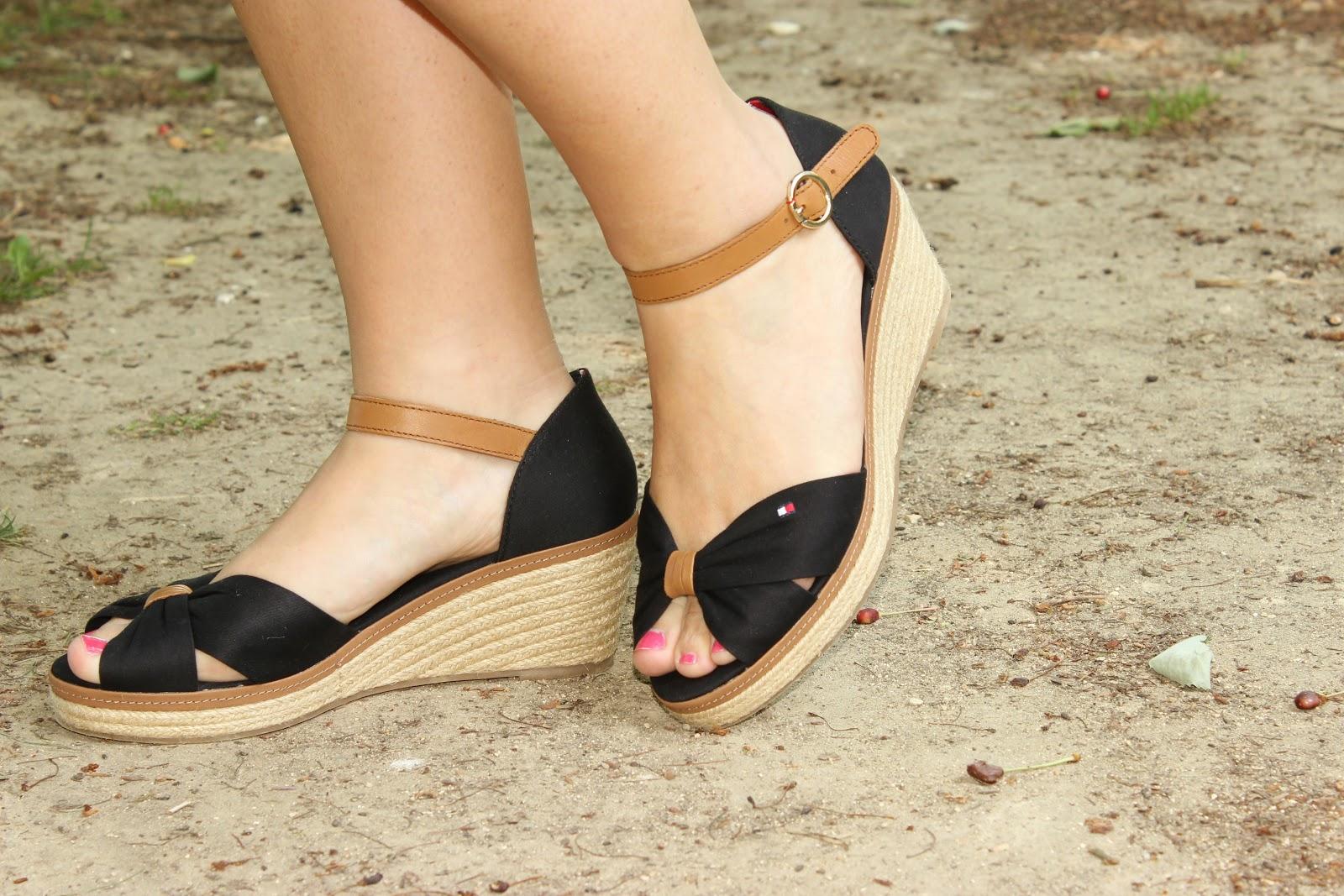 footway, chaussures compensées tommy hilfiger, les petites bulles de ma vie
