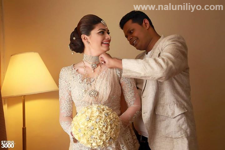 Only a few closest associates have been invited to the wedding ceremony. President Sirisena and Minister Rajitha Senaratne had signed as witnesses