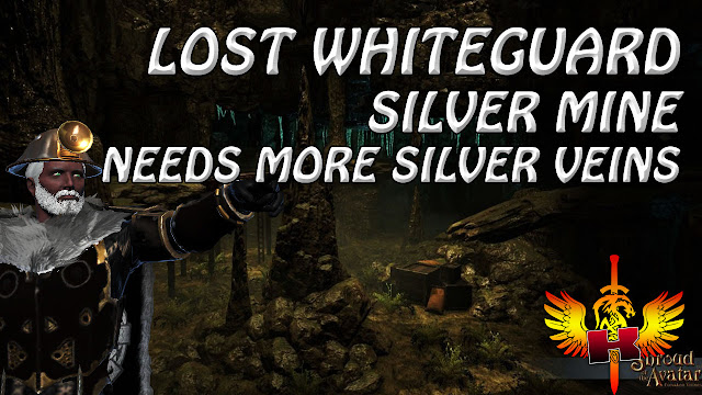 Lost Whiteguard Silver Mine In Solania • Needs More Silver Veins • Shroud Of The Avatar