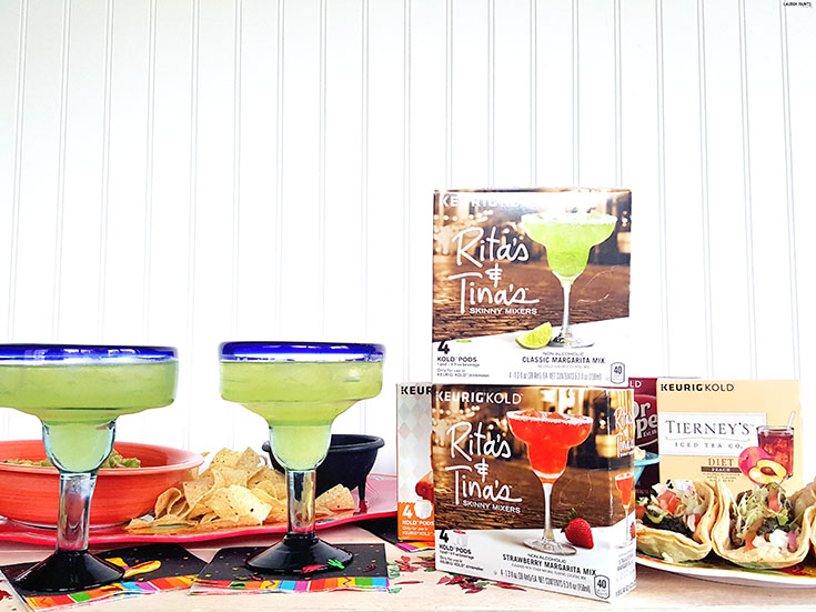 Have the time of your life this Cinco de Mayo and don't waste a second making drinks! Find out how the Keurig® KOLD can make your life easier and more flavorful!