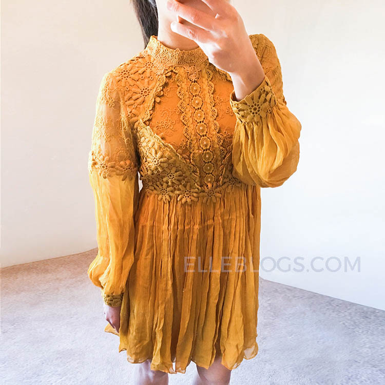 f8bdbb793467 Free People Lace Dresses Review + Extra 40% Off Sale - Elle Blogs