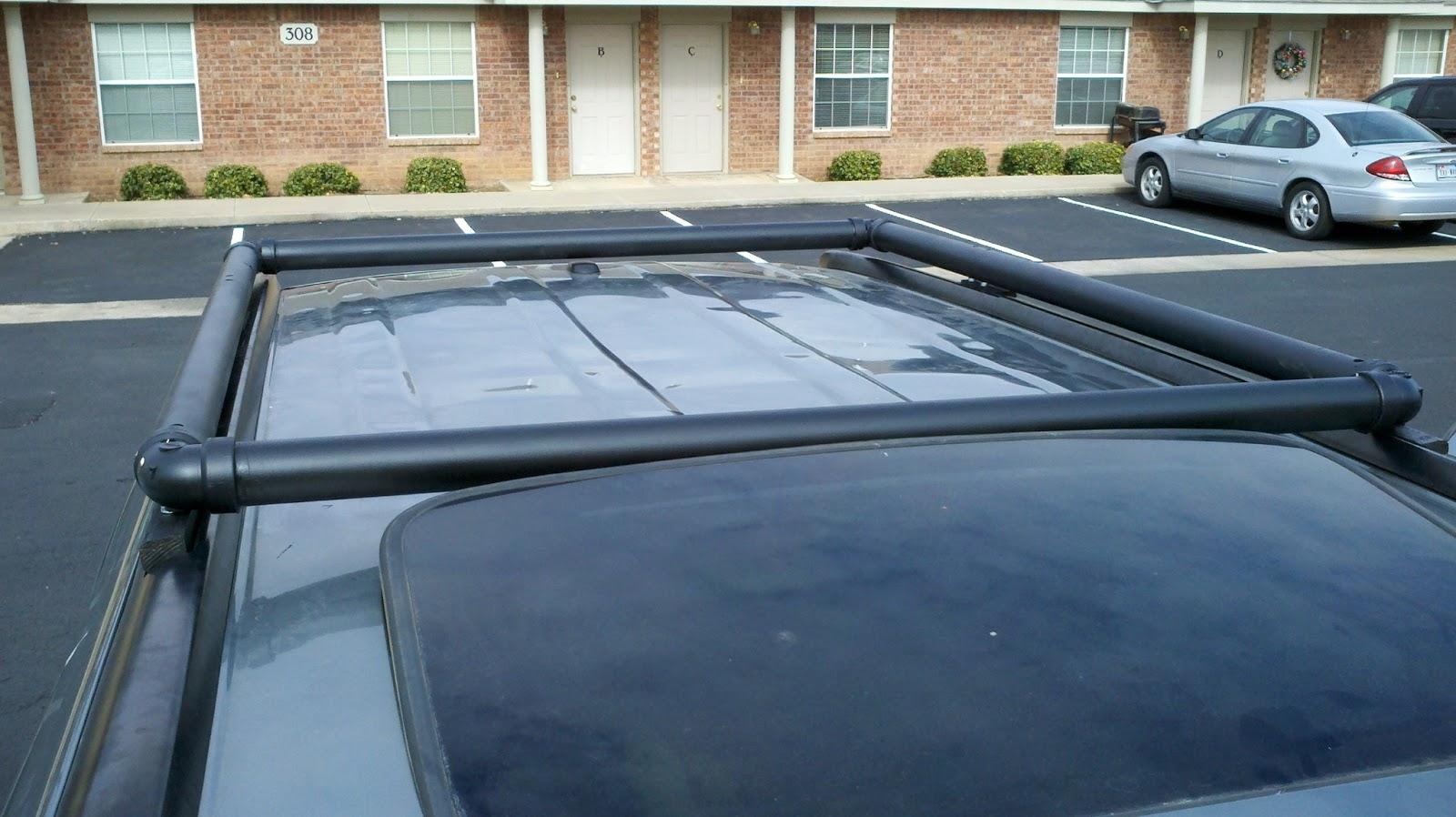 Dirtbagging In The 21st Century Diy Roof Rack