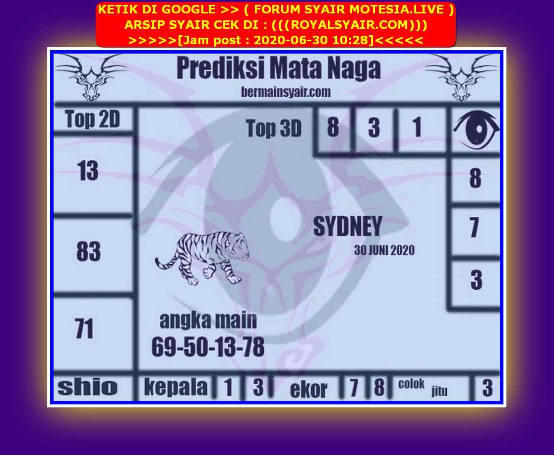 Kode syair Sydney Selasa 30 Juni 2020 225