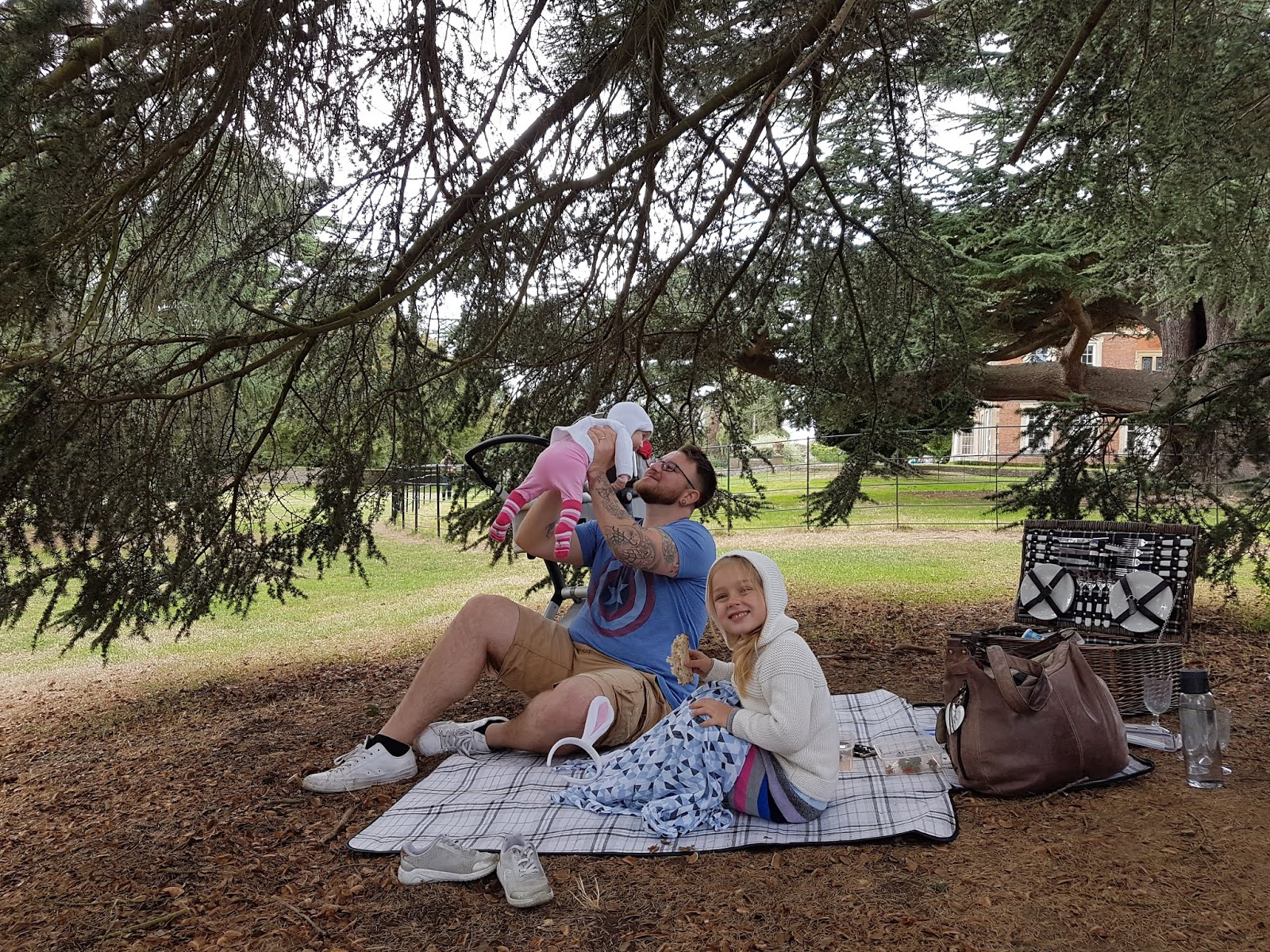 picnic under a tree