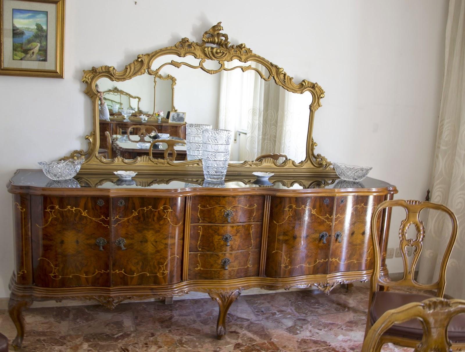 Credenza Da Appendere Shabby : Decorazioni soggiorno shabby vintage grande orologio da parete