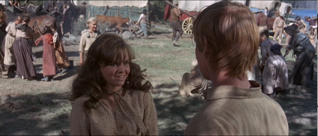 Sally Field and Michael McGreevey in The Way West (1967)