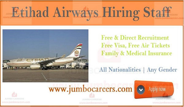 Latest government jobs in Abu Dhabi, Etihad Airways jobs and careers 2019 ,