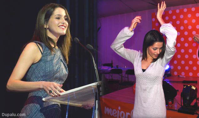 La candidata de Ciudadanos a la Generalitat de Cataluña: Inés Arrimadas