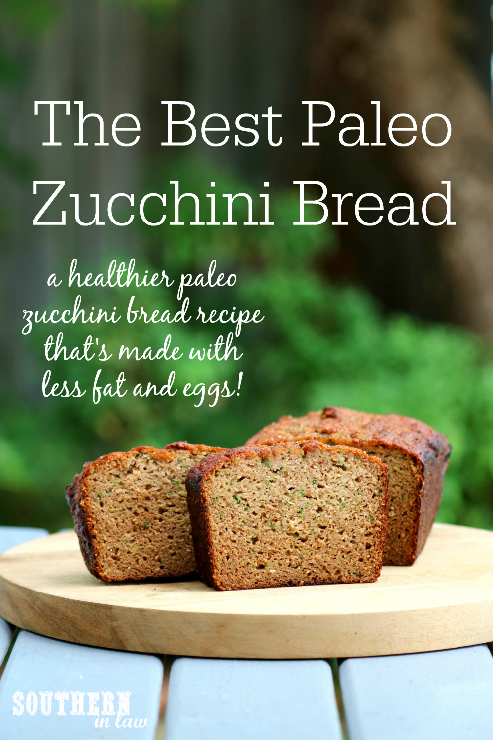 Southern in law recipe the best paleo zucchini bread my paleo banana bread recipe is a family favourite recipe that never gets old regardless of how many times i make it as soon as we have spotty bananas forumfinder Choice Image