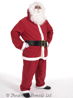 Father Christmas Suit Costume from Theatrical Threads Ltd