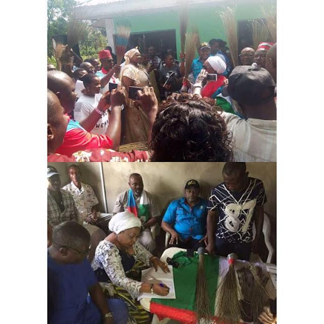 Senator Florence Ita-Giwa, dumps PDP for APC in Bakassi, Cross River State