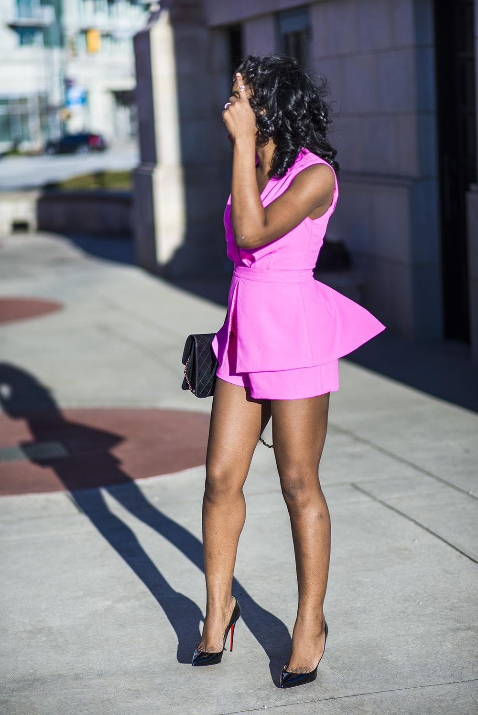 Pink Romper