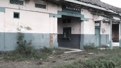 Stasiun Kaliwedi angker