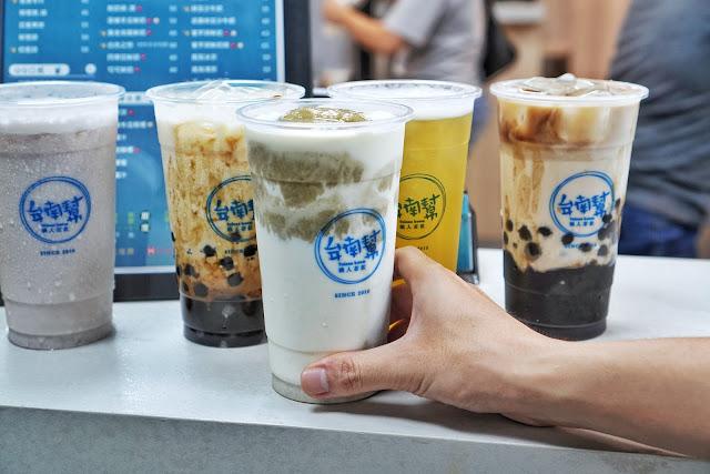 台南美食【台南幫 中華店】綠豆沙牛奶
