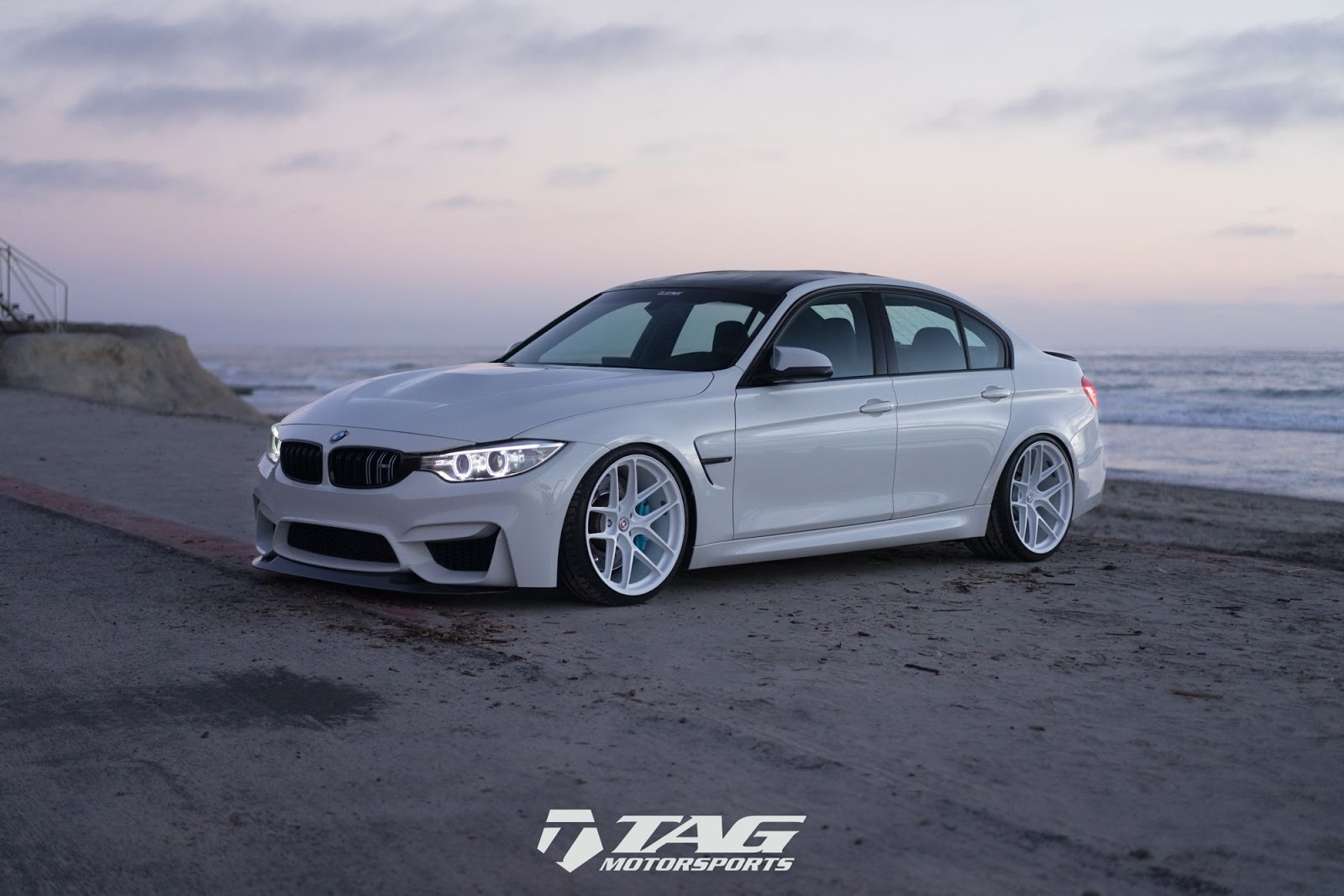 all white bmw m3 is a unique tuning project carscoops. Black Bedroom Furniture Sets. Home Design Ideas