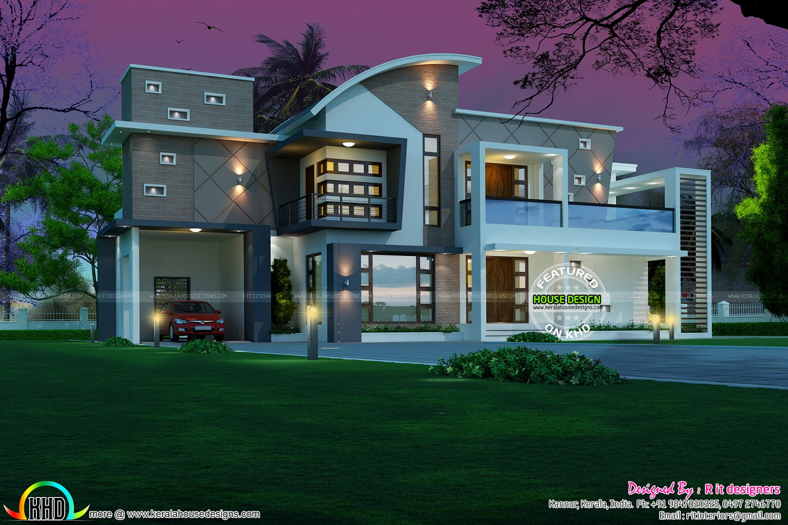 2847 sq ft house 60 lakhs cost estimated kerala home design and floor plans for Kerala home designs and estimated price