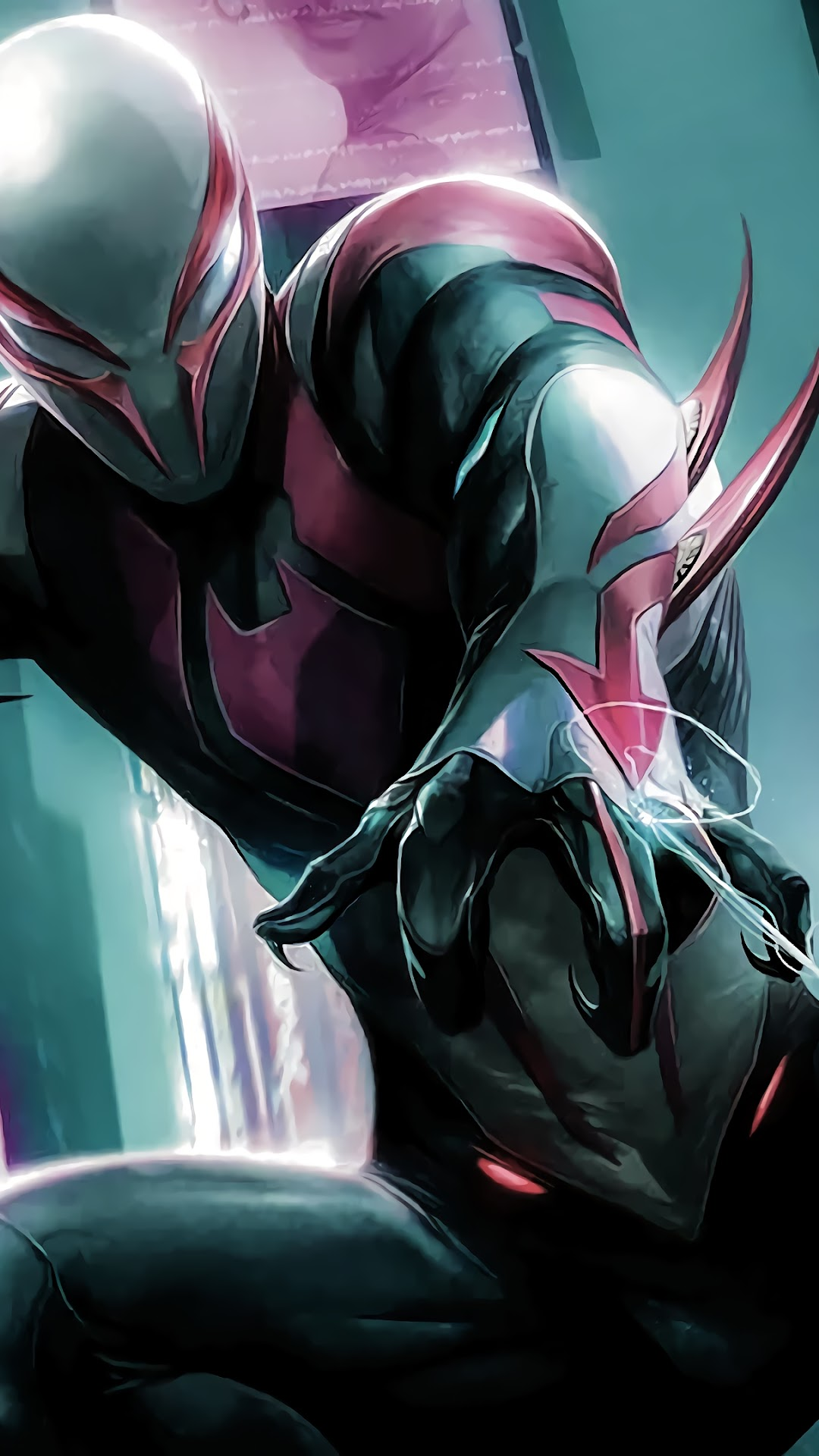 Spider Man 2099 4k Wallpaper 86
