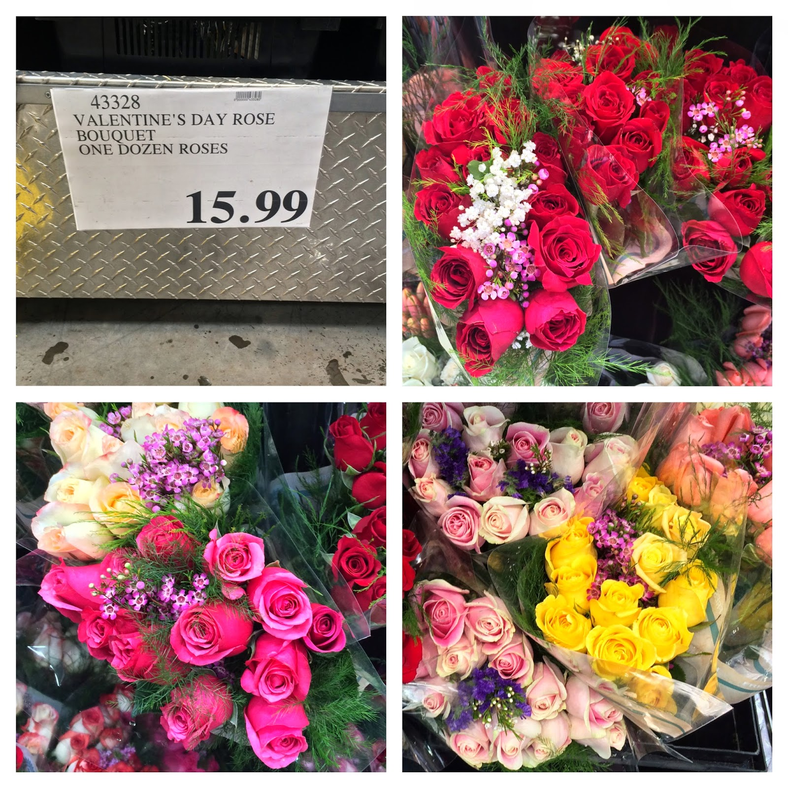 The costco connoisseur valentines day at costco choose from a variety of floral bouquets and arrangements that are both beautiful and affordable like one dozen roses for only 1599 izmirmasajfo Images