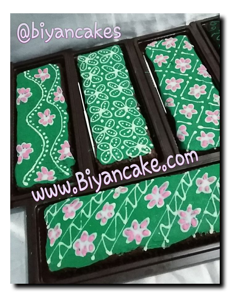 brownies batik hijau ~ Ayu
