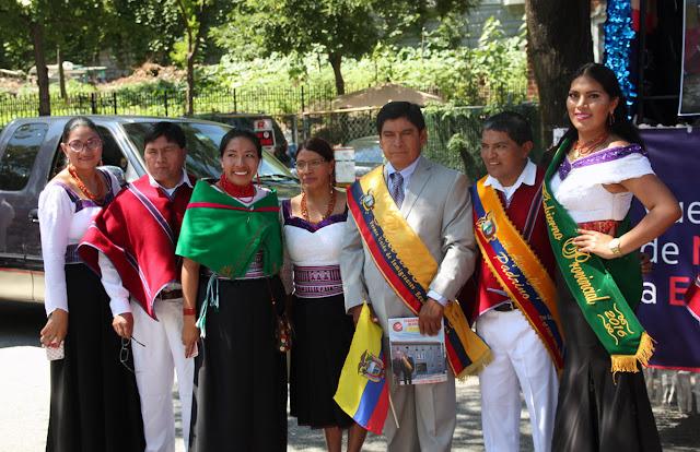 foto de grupo de danza folclorica ecuatoriana en Queens NY.