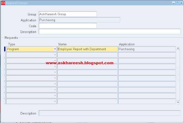 Report Registration with Parameters in Oracle Apps | AskHareesh Blog