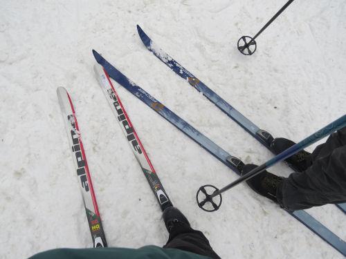 Roscommon Cross Country ski headquarters skis