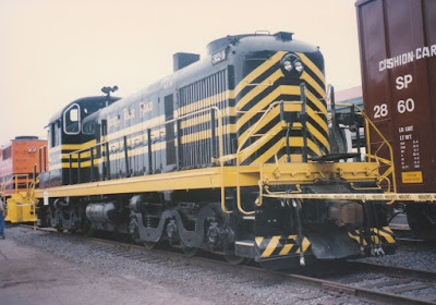 DLMX Nickel Plat Road RSD-5 #324 at Union Station in Portland, Oregon, on May 11, 1996