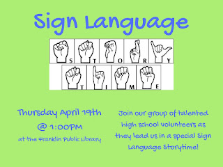 Franklin Public Library: Sign Language