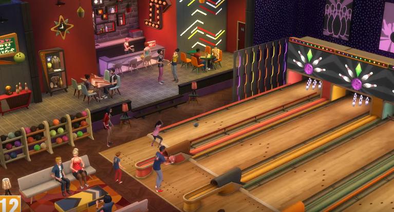 La nueva expansión de Sims 4, Noche de bolos, llegará el 29 de marzo, ¡que empiece la partida!