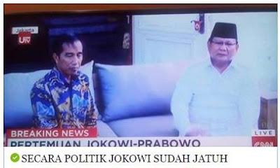 Secara Politik Jokowi Sudah Jatuh