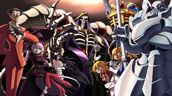 Anime dengan Karakter Utama Cool Overlord