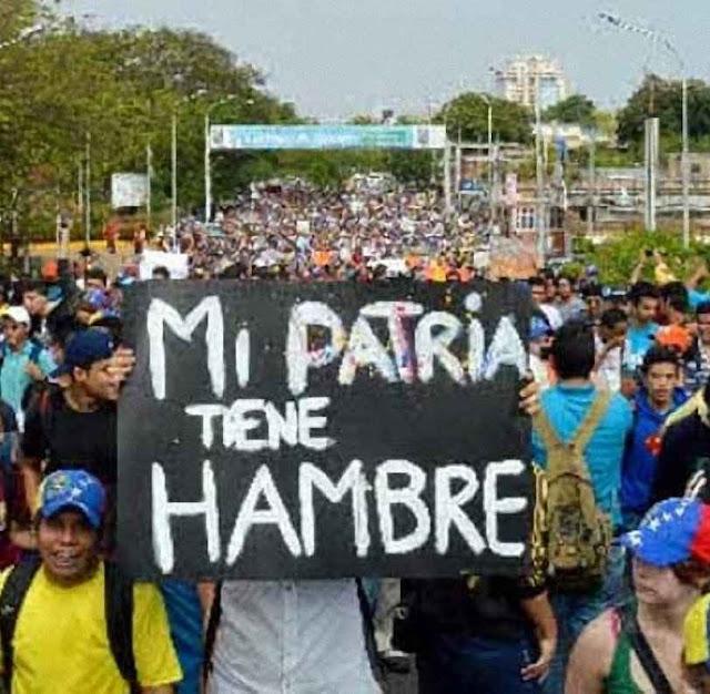 """A tendência socialista. Venezuelanos entrando na Colômbia: """"Minha pátria passa fome!"""""""