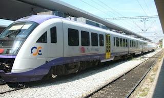 να σφυρίξει το τρένο στην Ηλεία