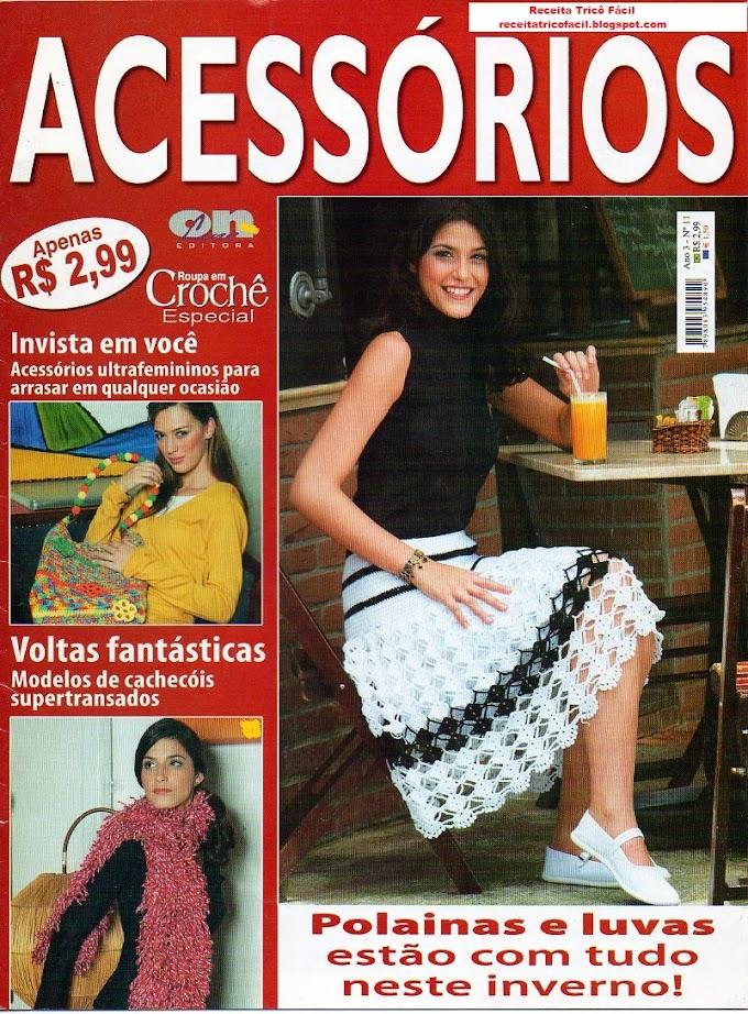Roupas Em Crochê Especial-Ano 3- N°11-Revista Crochê