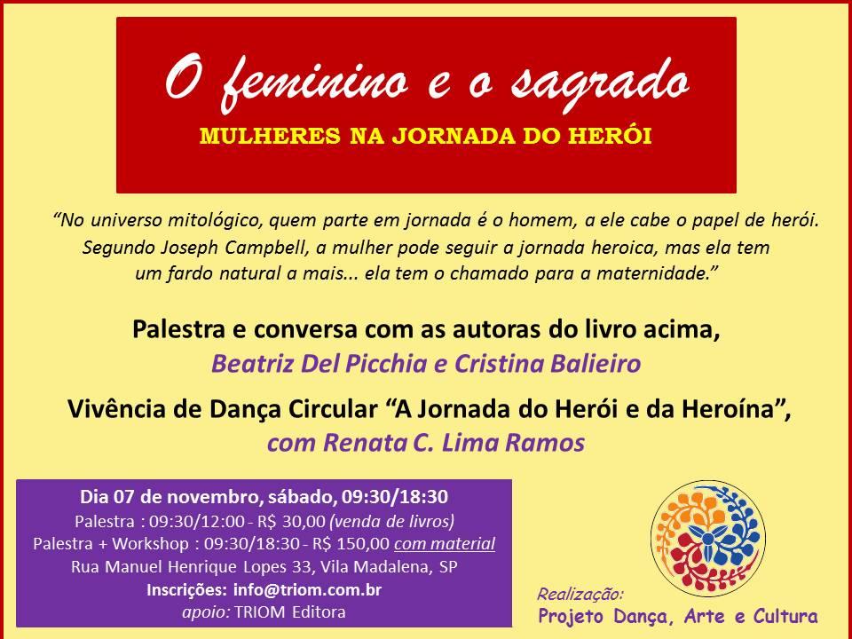 bfa1e843aa Um convite  jornada da heroína e danças circulares sagradas