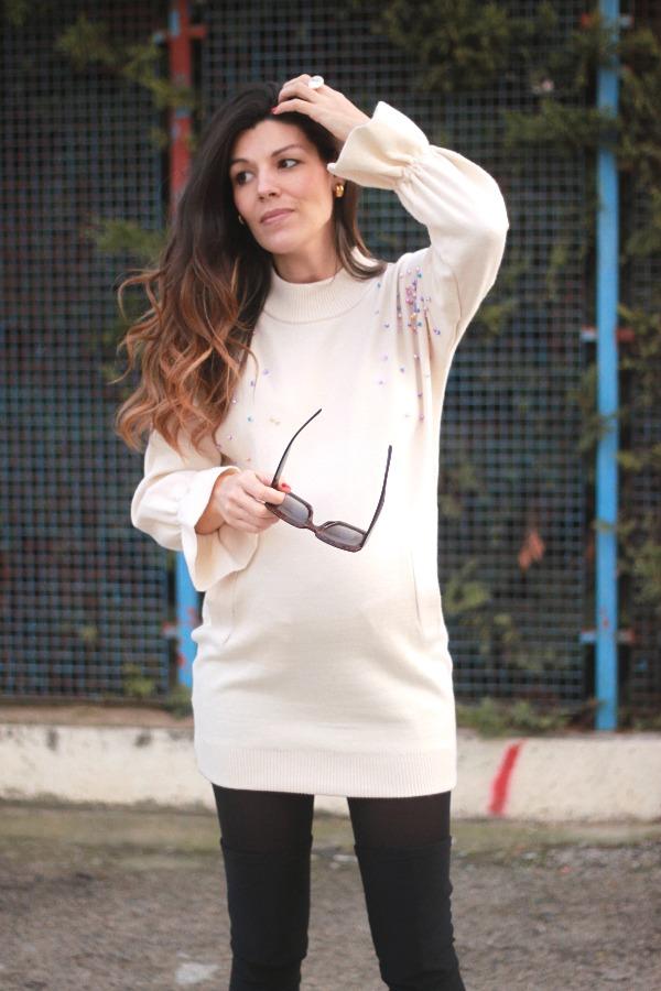 moda embarazada, style pregnancy, look premama,
