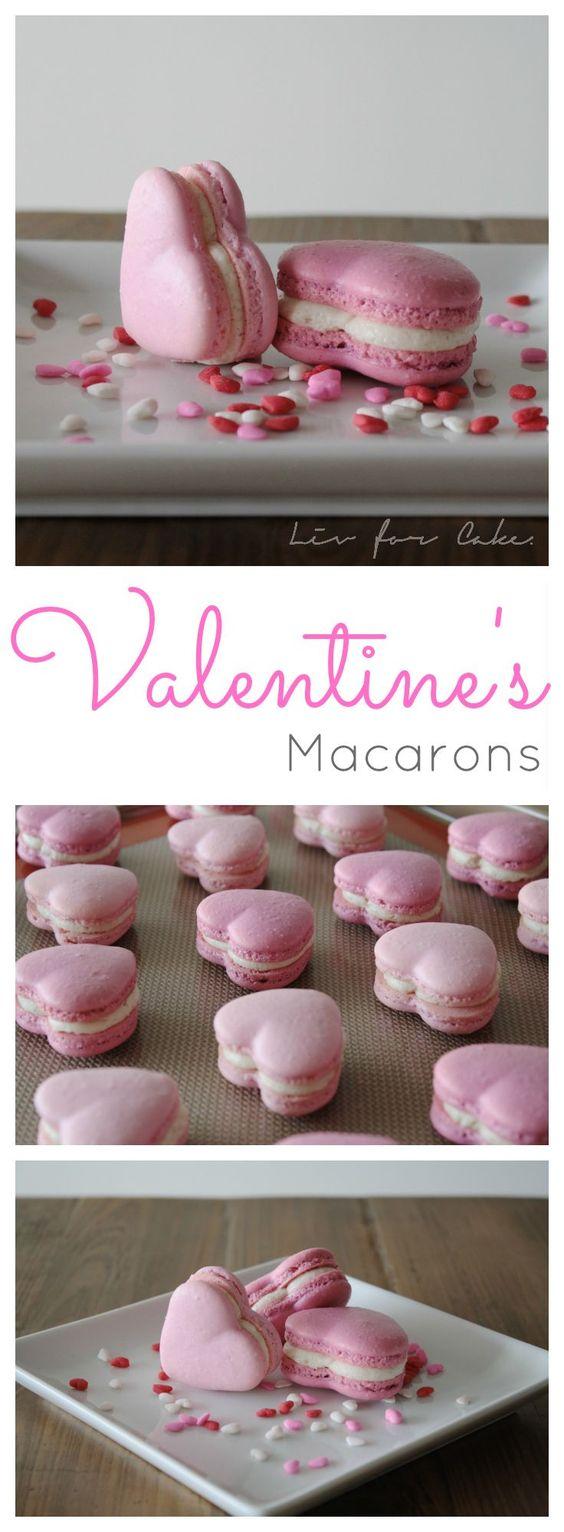 VALENTINE'S HEART MACARONS