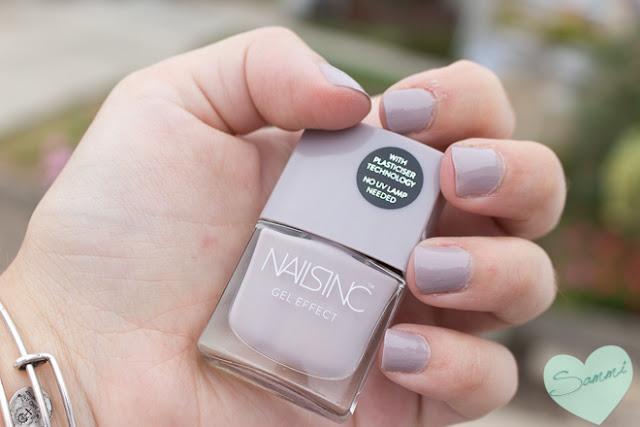 Sammi's Mani: Nails Inc. Gel Effect in Porchester Square