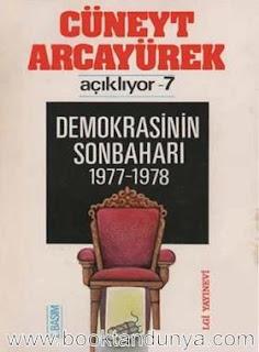 Cüneyt Arcayürek - Açıklıyor 7 Demokrasinin Sonbaharı 1977-1978